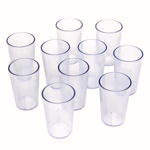 5 oz. Clear Tumbler- Set of 10