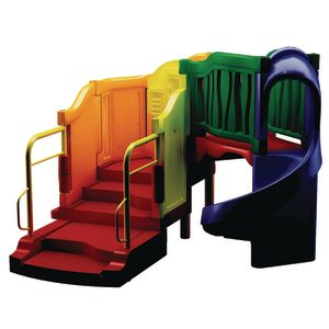 """""""Jump Start"""" Clever Climber™ - Primary, In-Ground Installation"""