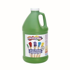 Colorations® 1/2 Gallon Apple Green Simply Washable Tempera Paint