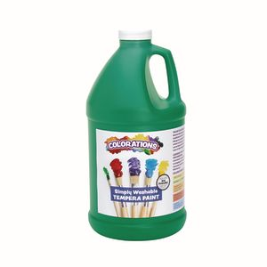 Colorations® 1/2 Gallon Green Simply Washable Tempera Paint