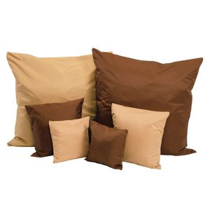 Two-Tone Pillows, Set of 6 - Brown/Tan