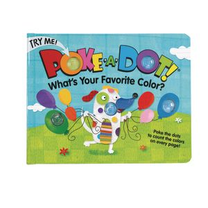 Poke-A-Dot Book: What's Your Favorite Color?