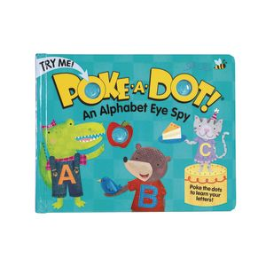 Poke-A-Do Book: An Alphabet Eye Spy