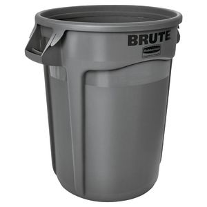 32 Gallon Trash Can - Gray