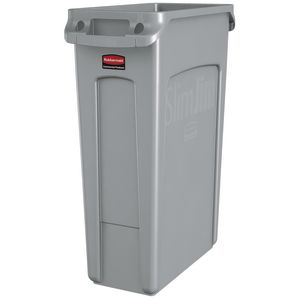 23 Gallon Slim Jim® Trash Can