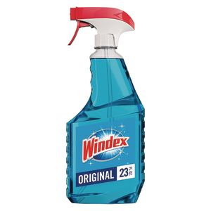 Windex Non-Ammoniated Glass Cleaner - 32 oz, Case of 12