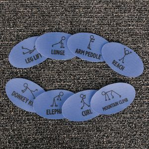 Carpet Mark-Its™ Get Moving Activity Set of 30