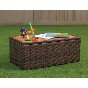 Excellerations® Outdoor Wicker Coffee Table
