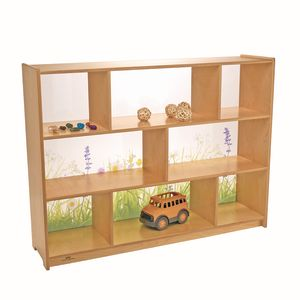 Nature View Acrylic Back Cabinet - 36