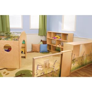 Preschool Nature View Room Divider Set