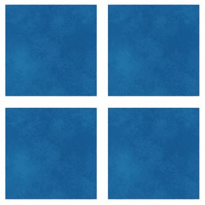 Sound Absorbing Square Wall Tiles, Large - Turquoise