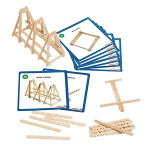 Colorations® Wooden Building Craft Sticks, Set of 600 Sticks