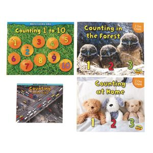 Counting Math Books - Set of 4