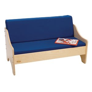 Birch Living Room Sofa - Blue