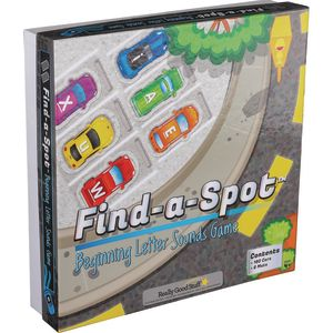 Find-A-Spot? Beginning Letter Sounds Game