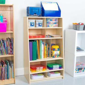 Storage Shelf - Oak