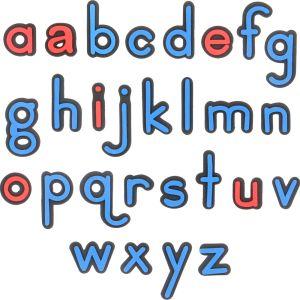 EZread Soft Touch™ Magnetic Letters: Expanded Set