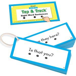 EZRead 1st 50 Fry Tap & Track™ Sight Word Sentences