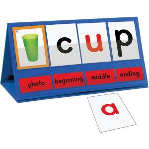 Word Building Desktop Pocket Chart Tent & Cards Kit