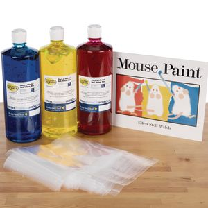 StoryTime Science? - Mouse Paint Book And Kit By Steve Spangler Science?
