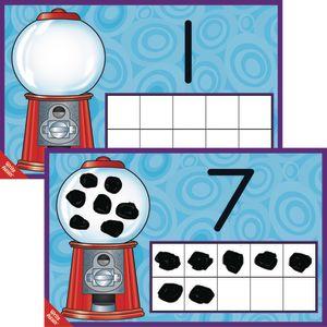 Numbers Through 10 Practice Mats