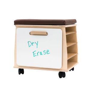 Mobile Teacher's Stool with Storage