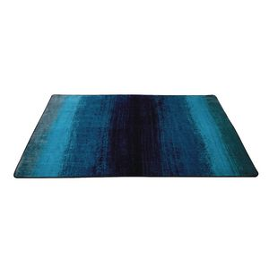Water Stripes Carpet Blue - 4' x 6' Rectangle