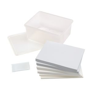 Ultimate Art Papers, Total of 250 Sheets with Storage Bin