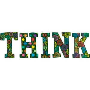 Classroom Display Letters - THINK