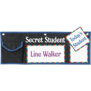 Secret Student Behavior Management System - 1 pocket chart, 42 cards