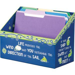 Nautical Folder File - 1 file box