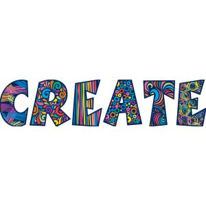 Classroom Display Letters - CREATE