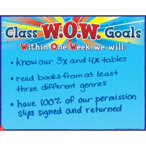 W.O.W. Goals Poster