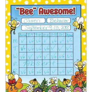 Bees Mini Incentive Charts - 24 charts