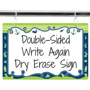 Nautical Dry Erase Sign