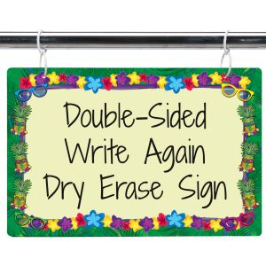 Cool-To-The-Core Dry Erase Sign
