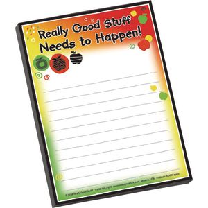 Really Good Stuff Needs To Happen Notepad