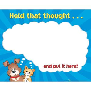 Hold That Thought Poster  English/Spanish - 1 poster