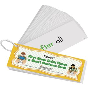 EZread? Dolch First Grade Phrase and Short Sentence Flash Cards