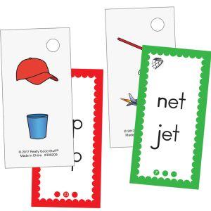 EZread? Mini Flash Cards: CVC