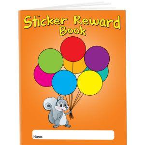 Sticker Reward Books