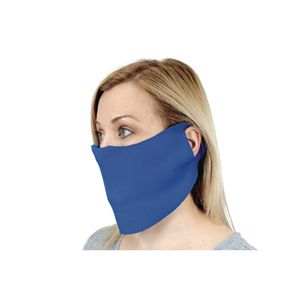 Elastic Face Covering with Cloth Ear Strap 10-Pack, Adult-Sized