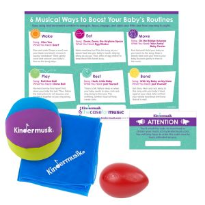 The Case for Music for You & Your Baby Activity Kit