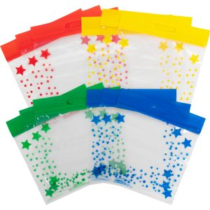 Group-Color Storage Bags-4 Colors - Set of 12