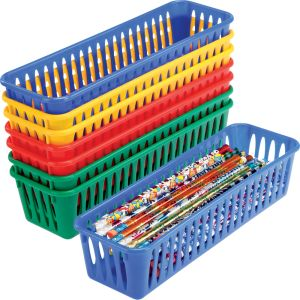 Pencil and Marker Baskets - Seto of  8 - Primary