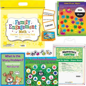 Family Engagement Math Practice & Solve Play Pack - 2nd Grade