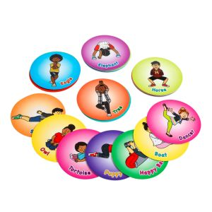Yoga Chips - Set of 24