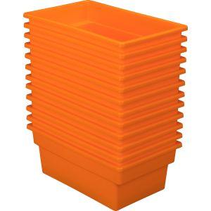 All-Purpose Bin - Set of 12 Orange