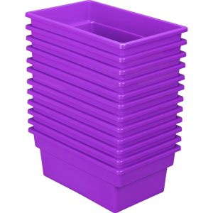 All-Purpose Bin - Set of 12 Purple