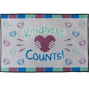 Kindness Counts Welcome Mat - 3' x 2'